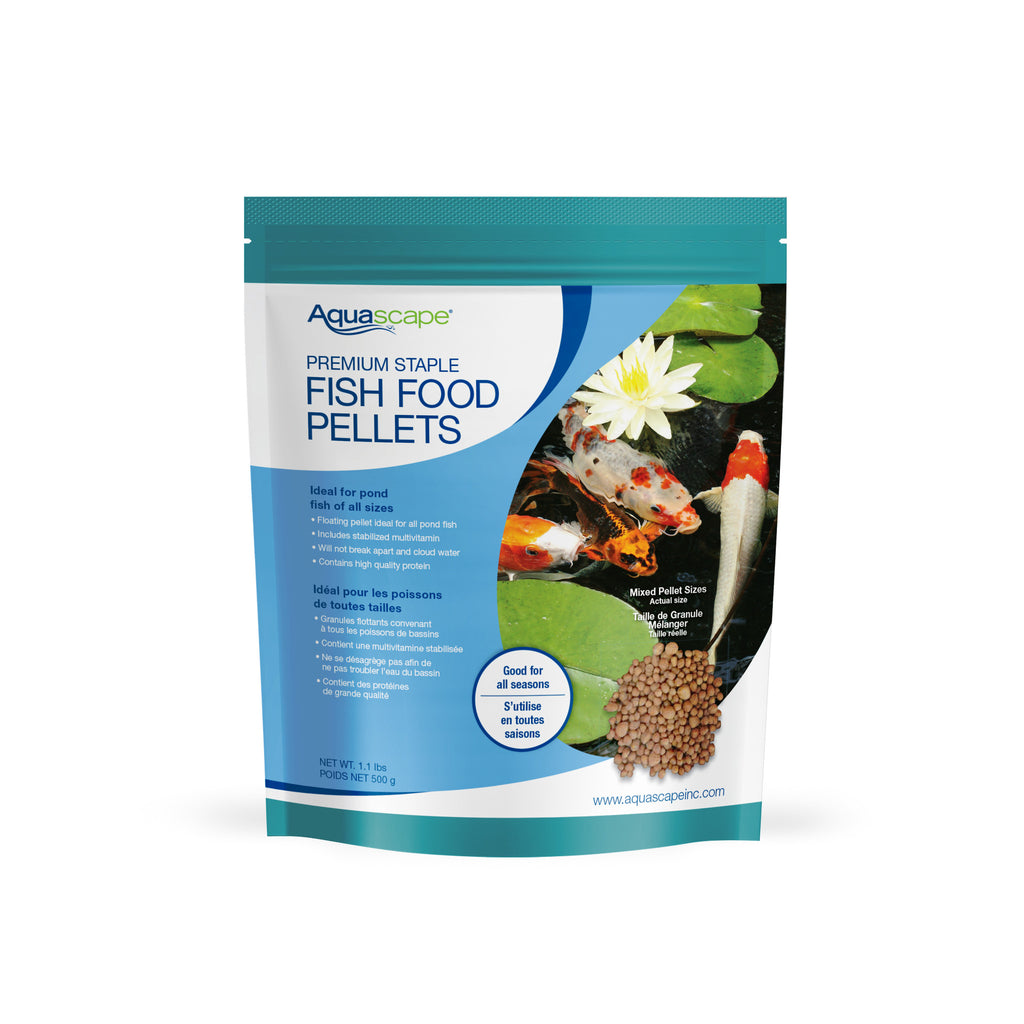 Premium Staple Fish Food Mixed Pellets - 500 g