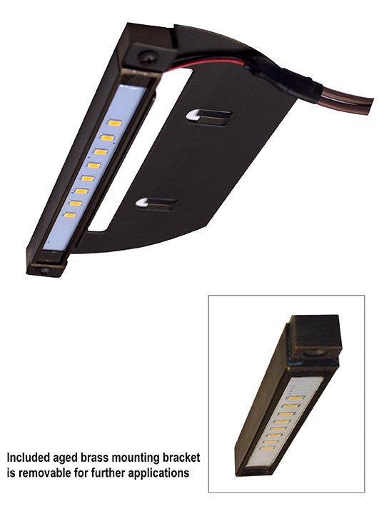 Alliance SL75-LED Integrated LED Step Light - 6.8""