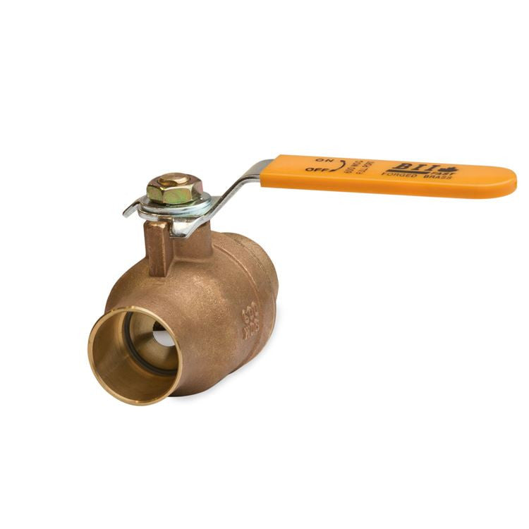 "Brass Ball Valve - 3/4"" CxC"