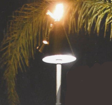 Alliance TIKI Area Light Hat with Tiki Torch