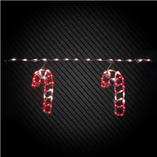 Holidynamics Light Links - Candy Canes