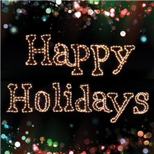 Holidynamics Happy Holidays Sign