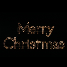 Holidynamics Merry Christmas Sign