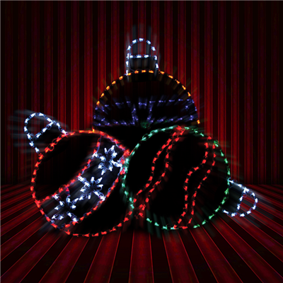 Holidynamics 52' LED Ornament Cluster