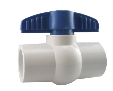 PVC Ball Valve (Slip - non threaded)