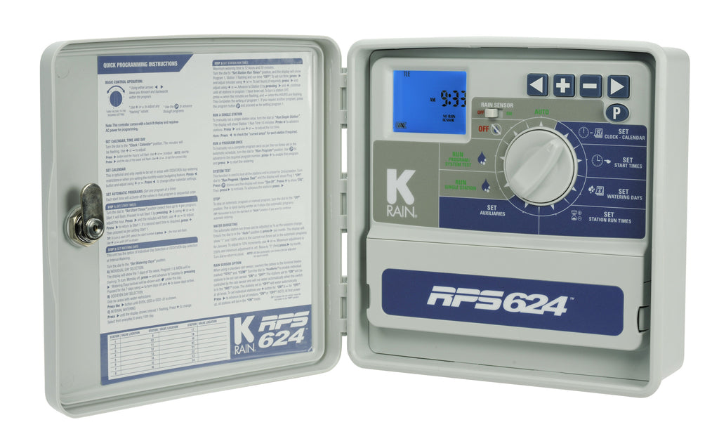 K-Rain RPS 624 Outdoor Irrigation Controller