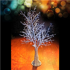 Holidynamics 4' LED Winter Bark Tree
