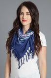 Medallion Wash Scarf in Twilight