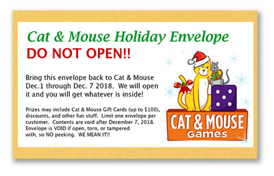 Our WORLD FAMOUS Holiday Envelopes Will be Back Again This