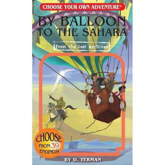Choose Your Own Adventure: By Balloon to the Sahara