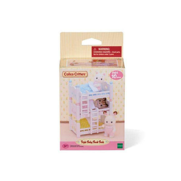 Calico Critters: Triple Baby Bunk Beds