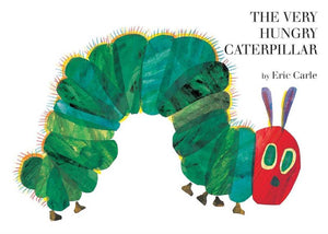 The Very Hungry Caterpillar board book (Carle)