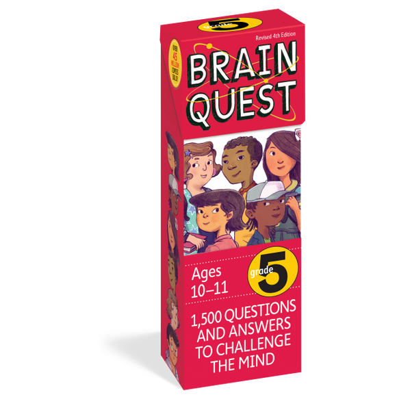 Brain Quest Cards: 5th Grade