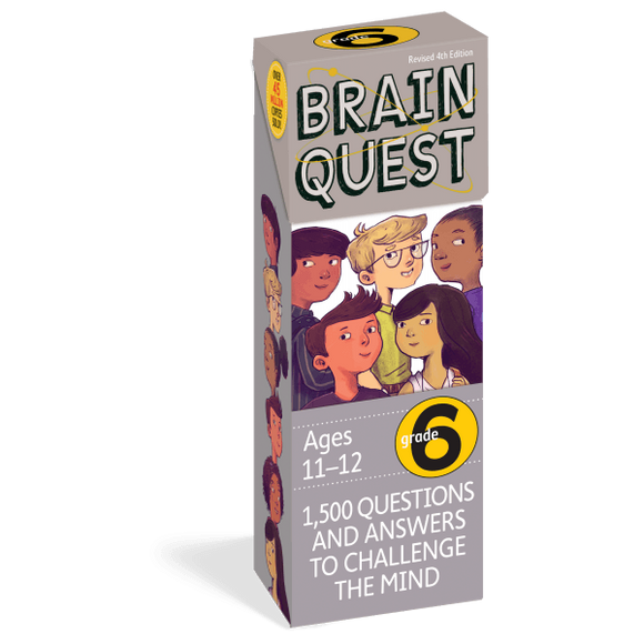 Brain Quest Cards: 6th Grade