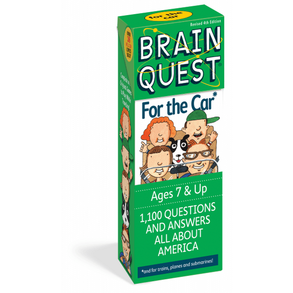 Brain Quest Cards: For The Car