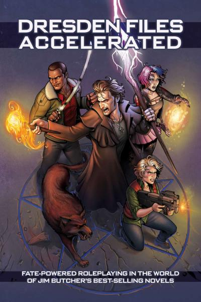 Fate: The Dresden Files Accelerated (HC)