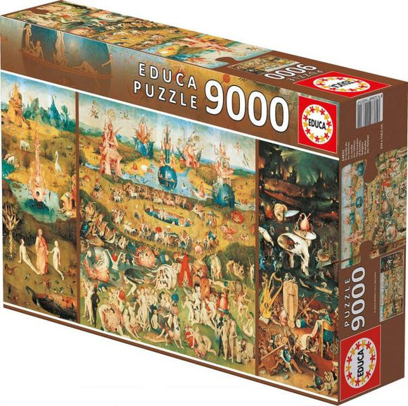 The Garden of Earthly Delights (9000 pieces)