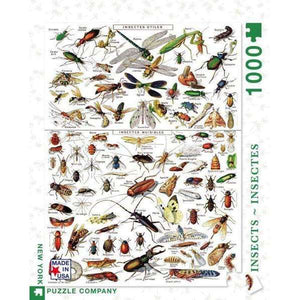 Vintage: Insects - Insectes (1000 pieces)
