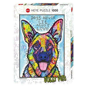 Jolly Pets, Dogs Never Lie (1000 pieces)