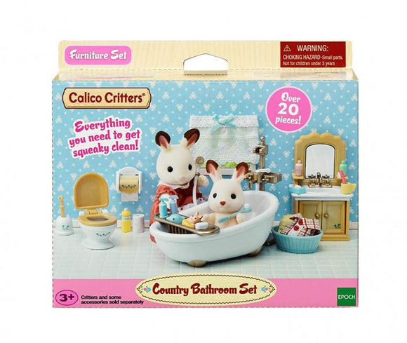 Calico Critters: Country Bathroom