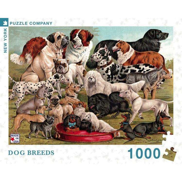 Vintage: Dog Breeds (1000 pieces)