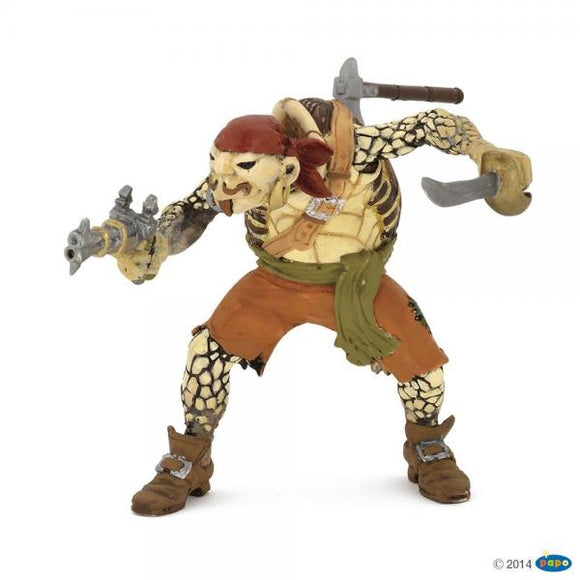 Papo turtle mutant pirate