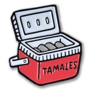 Enamel Pin - Tamale Cooler
