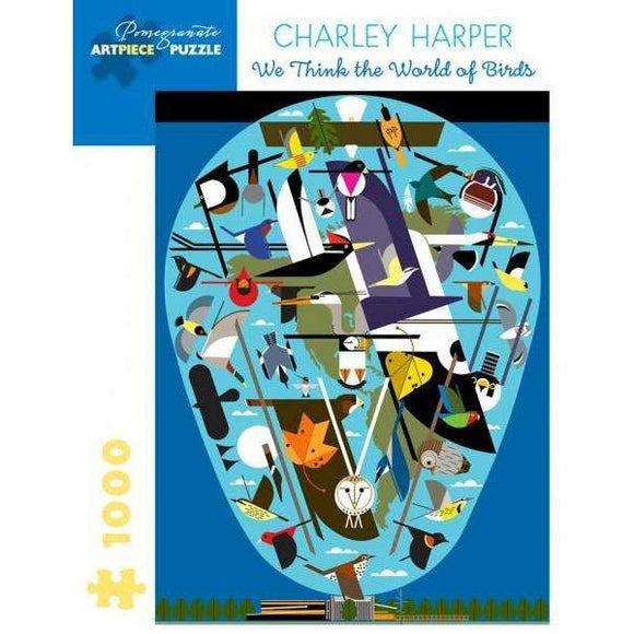 Charley Harper: We Think the World of Birds (1000 pieces)