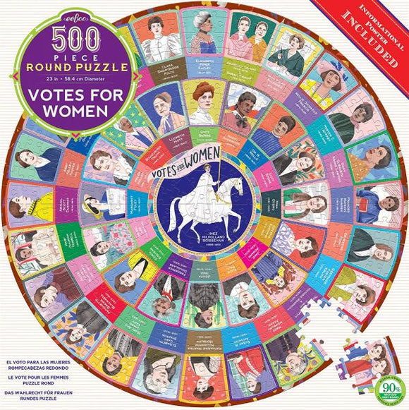 Votes For Women (500 pieces, round)