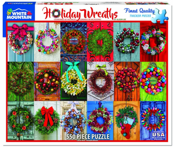 Holiday Wreaths (550 pieces)