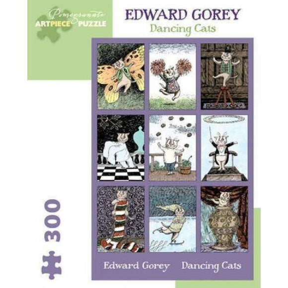 Edward Gorey Dancing Cats (300 pieces)