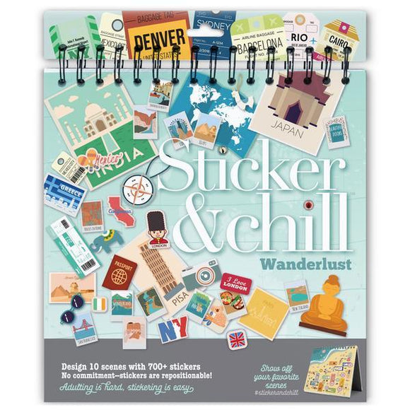 Sticker & Chill: Wanderlust