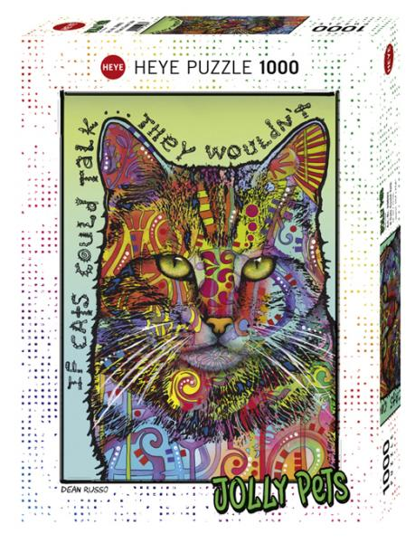 Jolly Pets: If Cats Could Talk (1000 pieces)