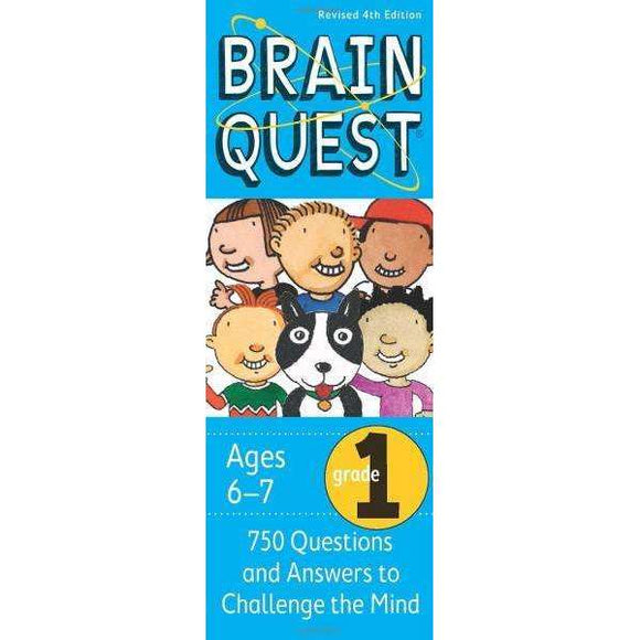 Brain Quest Cards: 1st Grade