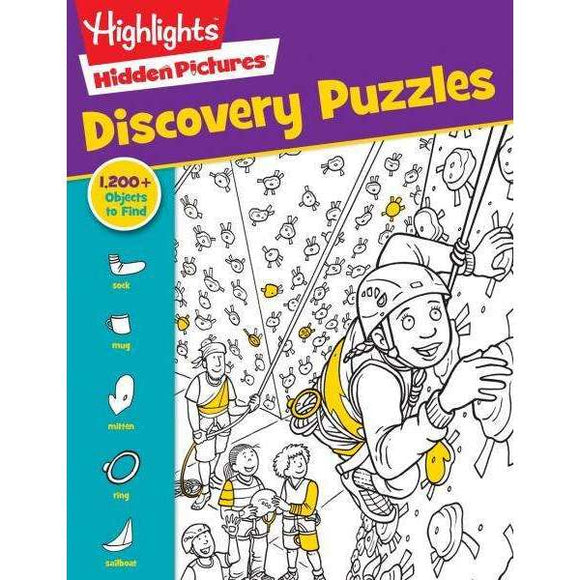Highlights: Favorite Hidden Pictures Discovery Puzzles