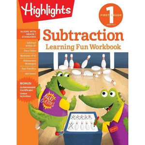 Highlights Learning Fun Workbook: First Grade Subtraction