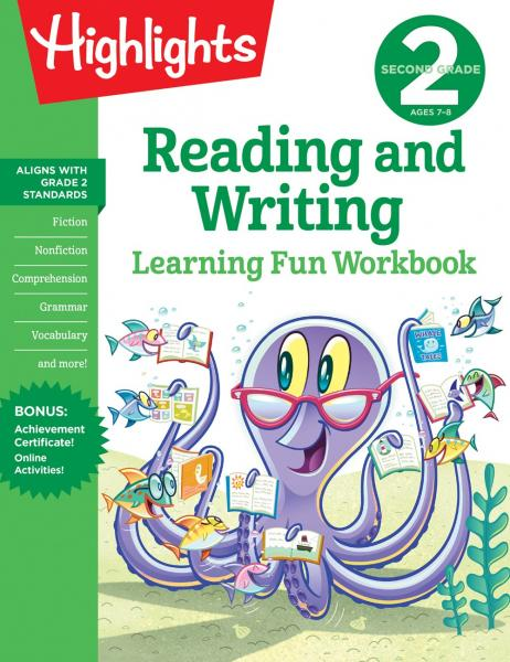 Highlights Learning Fun Workbook: Second Grade Reading and Writing