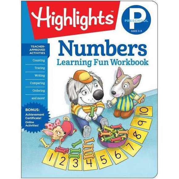 Highlights Learning Fun Workbook: Preschool Numbers