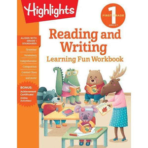 Highlights Learning Fun Workbook: First Grade Reading and Writing