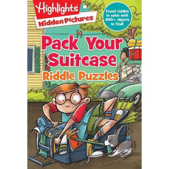 Highlights: Pack Your Suitcase Riddle Puzzles