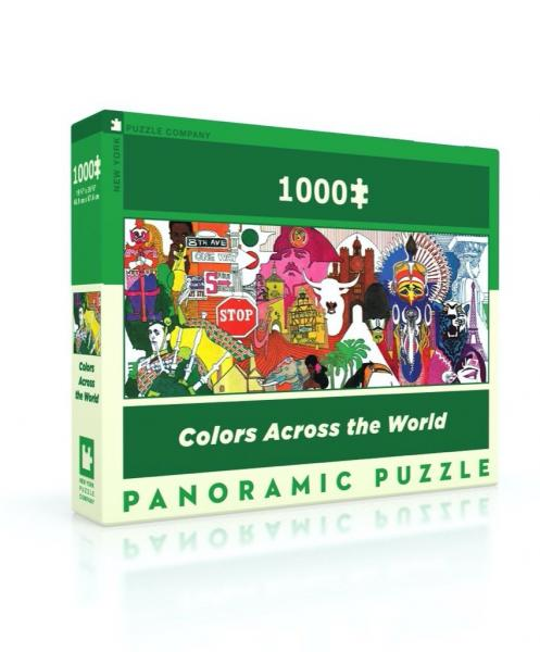 Colors Across the World, panoramic (1000 pieces)