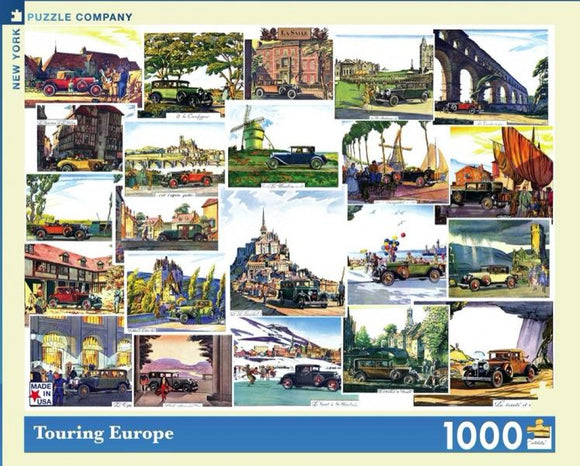 Touring Europe (1000 pieces)