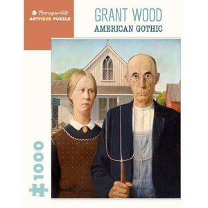 Grant Wood: American Gothic (1000 pieces)