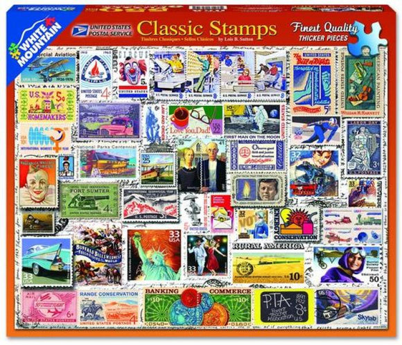 Classic Stamps (550 pieces)
