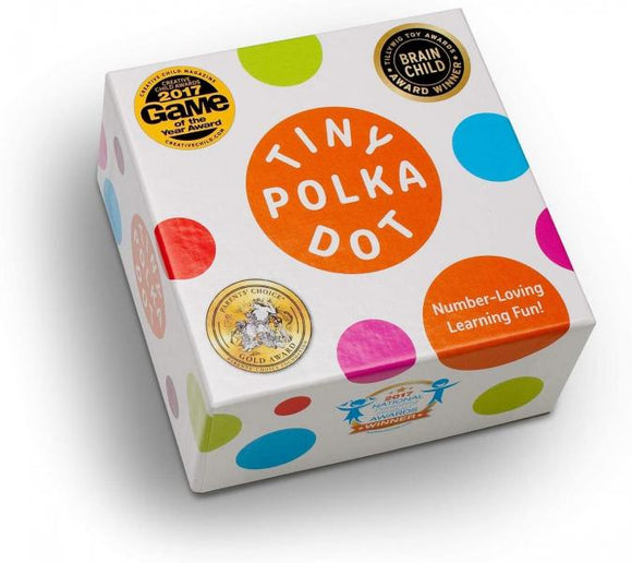 Tiny Polka Dot Math Game