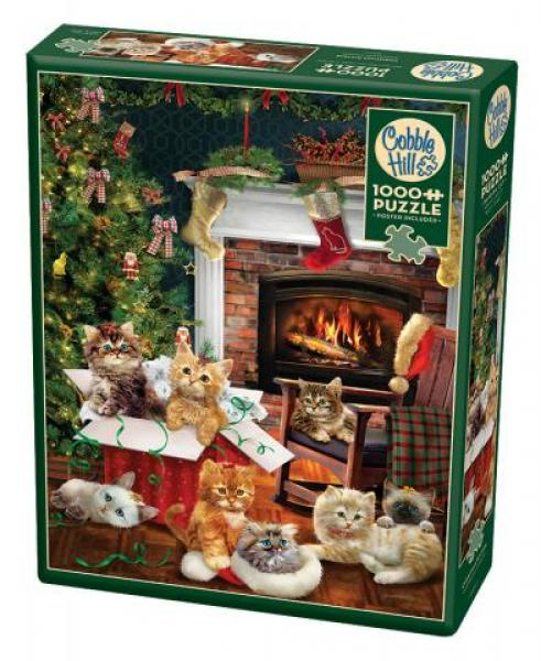 Christmas Kittens (1000 pieces)