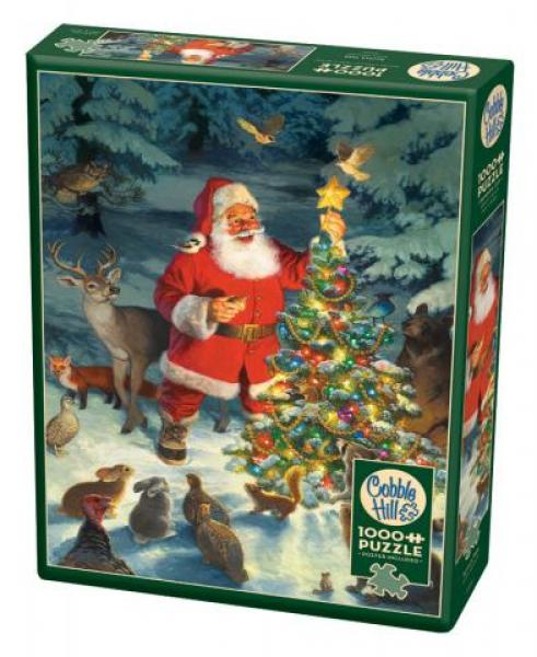 Santa's Tree (1000 pieces)