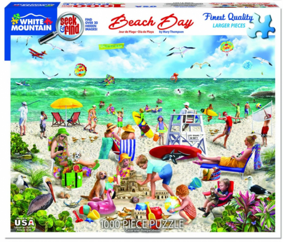Beach Day Seek and Find (1000 pieces)
