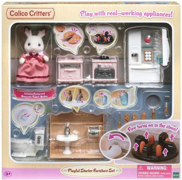 Calico Critters: Playful Starter Furniture Set