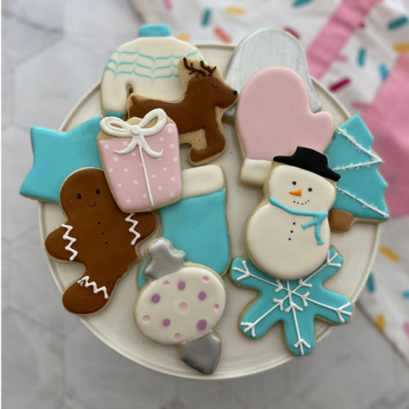 Winter Wonderland 12-piece Cookie Cutter Set
